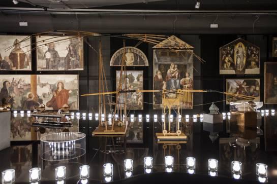 Genios renacentistas: Los ingenios de Da Vinci desfilan sobre la pasarela de Milán