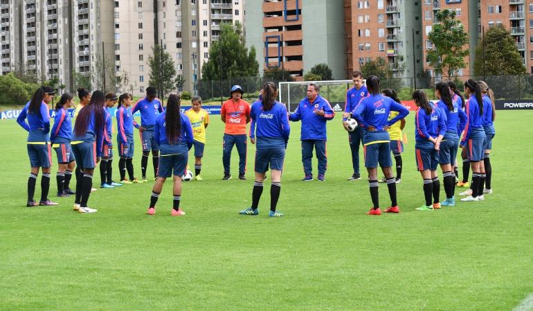 Selección Colombia Femenina se prepara para el Mundial Sub-17
