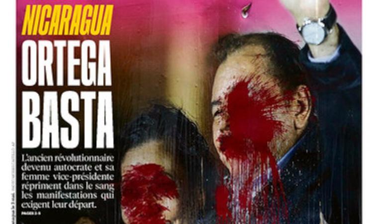 Crisis en nicaragua: Impactante portada de Libération contra Daniel Ortega