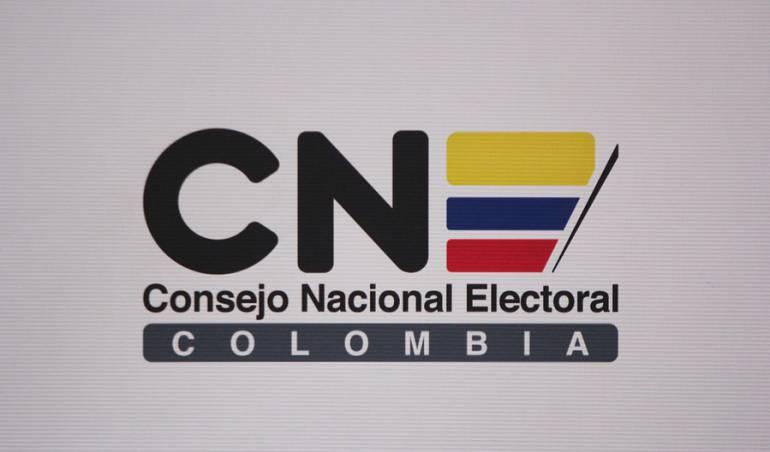 Consejo Nacional Electoral (CNE) Colombia.