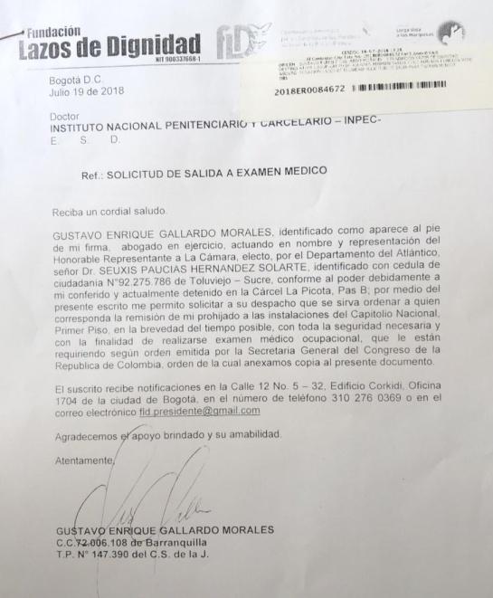 Partido Farc: CNE entregó la credencial de congresista a Jesús Santrich