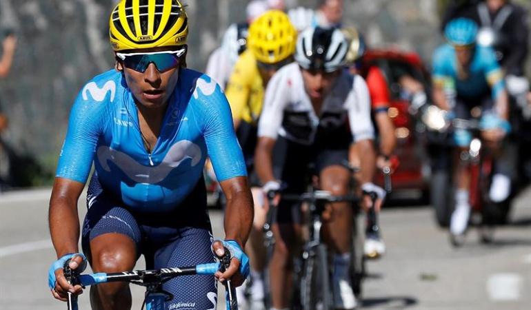 """Nairo Quintana Etapa 13 Tour de Francia: Nairo: """"Esperamos que esta etapa haya servido para recuperar el cuerpo"""""""