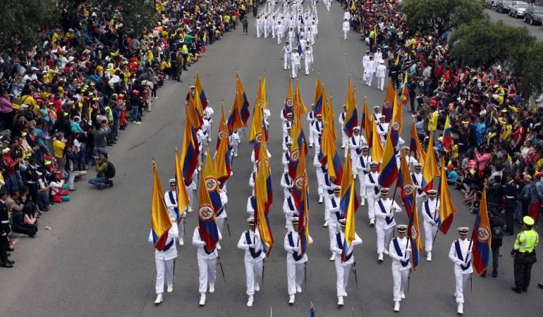 Desfile del 20 de Julio.