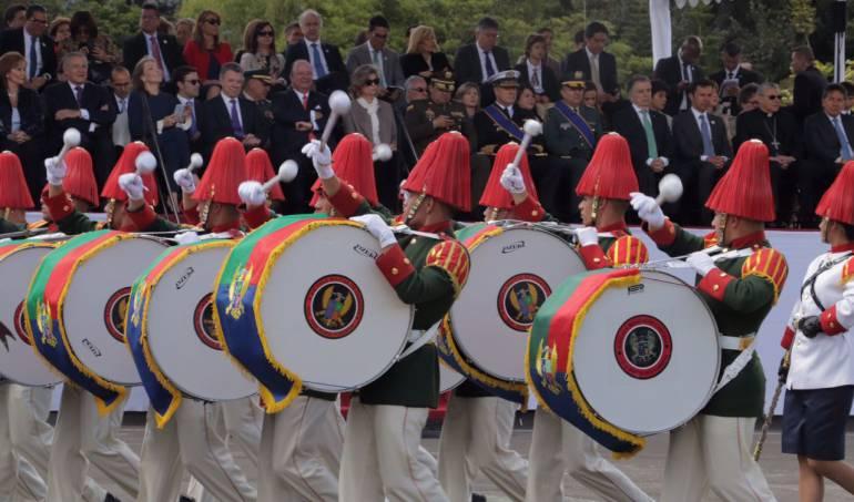 Independencia colombiana: La otra cara del desfile militar del 20 de julio