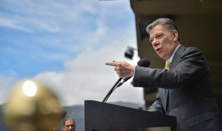 """Nuevo congreso: Santos pedirá al Congreso proteger """"el legado de la paz"""""""