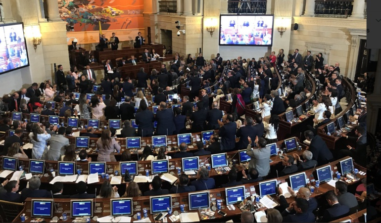 Nuevo congreso 2018-2022: Instalación del Congreso 2018