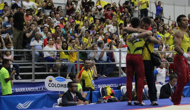 Jossimar Calvo medalla de oro equipos gimnasia: Jossimar gana oro en gimnasia por equipos y lo dedica a su madre