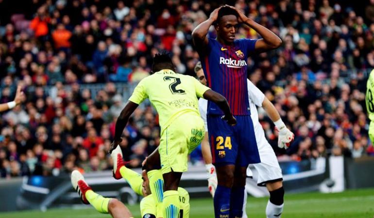 Fichajes FC Barcelona | Yerry Mina Admite Ofertas pero No Quiere Salir