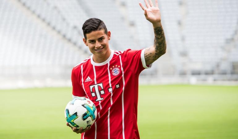 """Rummenigge James Rodríguez Bayern Múnich: Rummenigge: """"Estoy seguro que James seguirá esta y la otra temporada"""""""