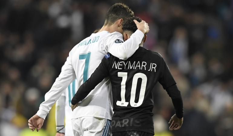 """Neymar y Cristiano Ronaldo: Neymar: """"Le deseo toda la suerte y lo mejor a Cristiano"""""""