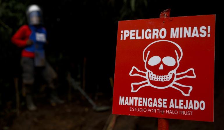 muerte suboficial Guaviare: Muere suboficial al pisar campo minado en el Guaviare