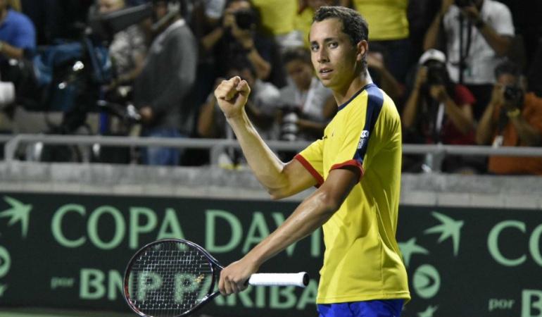Daniel Galán: Campeón: el tenista Daniel Galán consiguió su primer título Challenger