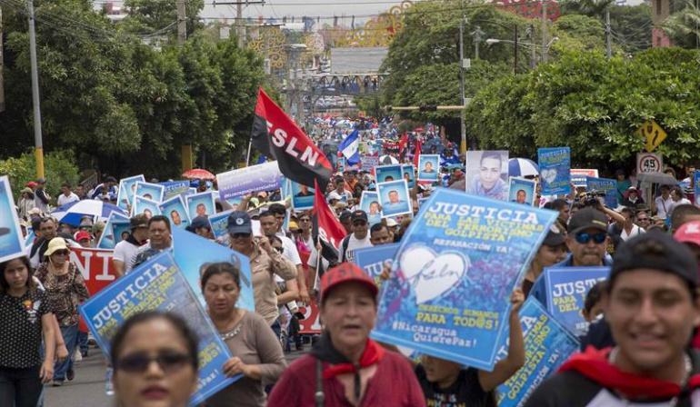 Represión en Nicaragua: Los jóvenes nicaragüenses seguirán en la lucha pese a represión y amenazas
