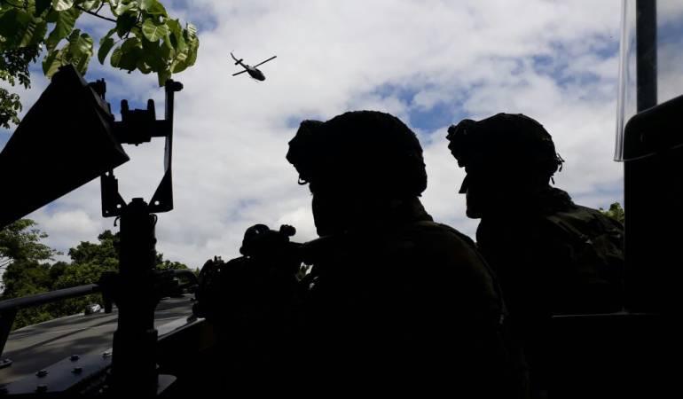 Operativos Clan del Golfo: Operativos contra el Clan del Golfo no se detendrán: Mindefensa