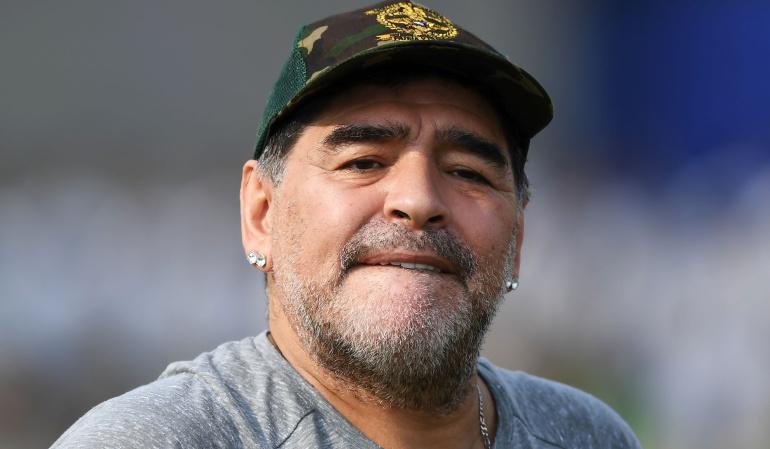 Diego Maradona: Diego Maradona aseguró que la AFA es un desastre