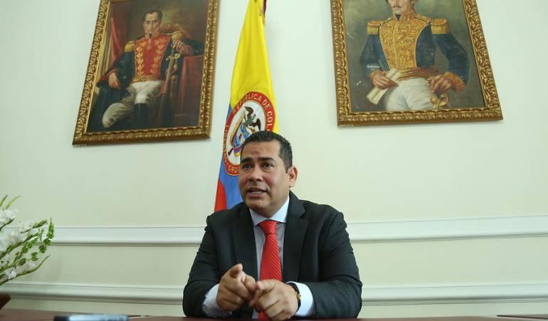 Alejandro Carlos Chacón Camargo, Nuevo presidente de la Cámara.