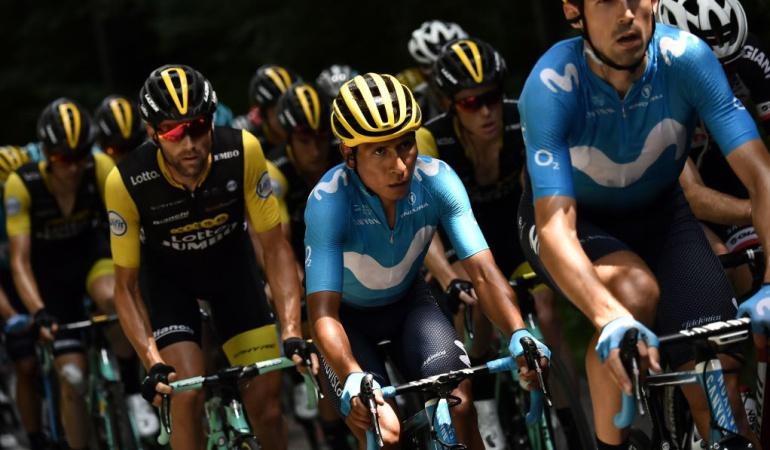 """Nairo Quintana Tour de Francai: Nairo: """"He tenido buenas sensaciones tras la etapa de descanso"""""""