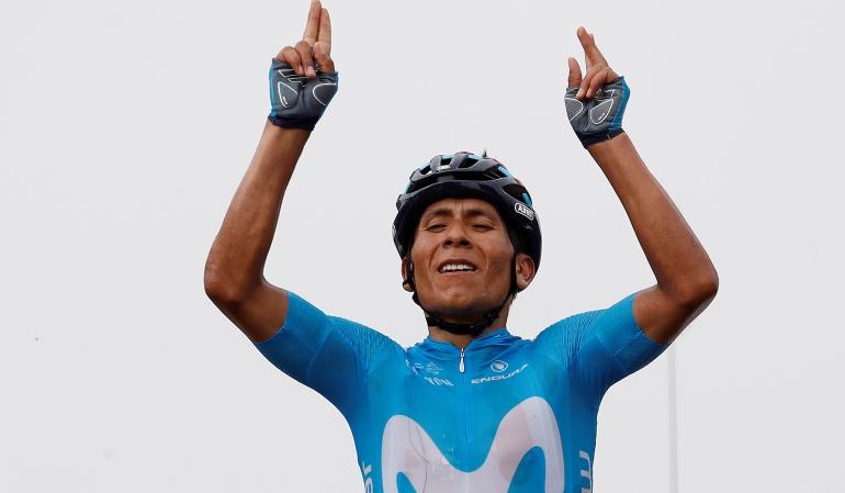 Etapa 17 Tour de Francia: ¡Nairo KING-tana!: el boyacense se quedó con la etapa 17 del Tour