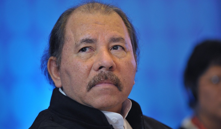 Presidente de Nicaragua, Daniel Ortega.