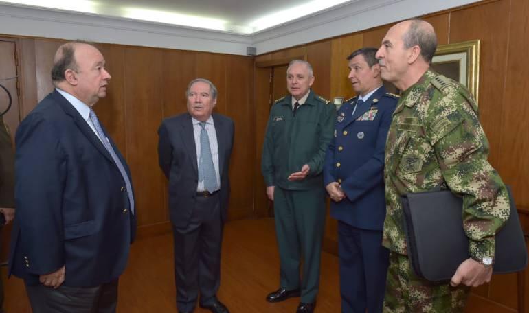 Gobierno Iván Duque: Villegas y Botero se reunieron para empalme del sector defensa