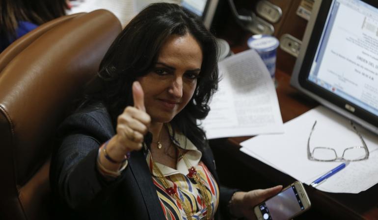 Senadora Maria Fernanda Cabal