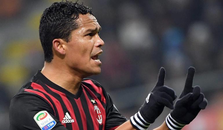 """Carlos Bacca Milan futuro: Bacca: """"Tengo que presentarme al Milan, pero seguramente ahí no me quedaré"""""""
