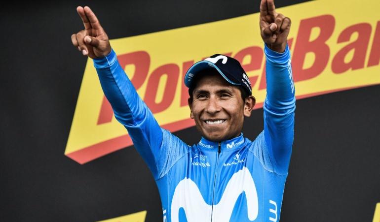 """Nairo Quintana Movistar Alejandro Valverde Marc Soler Tour de Francia: Quintana: """"El equipo y yo necesitábamos esta victoria en la etapa"""""""