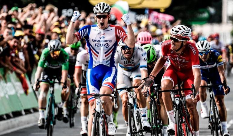 Etapa 18 Tour de Francia en vivo: Démare se quedó con la etapa 18 del Tour de Francia