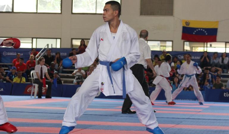 Medalla de oro karate: Andrés Felipe Rendón consiguió oro para Colombia en Karate