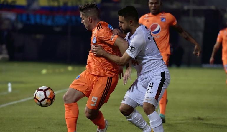 Millonarios General Díaz Copa Sudamericana: Millonarios igualó 1-1 en Paraguay y definirá la serie en su casa