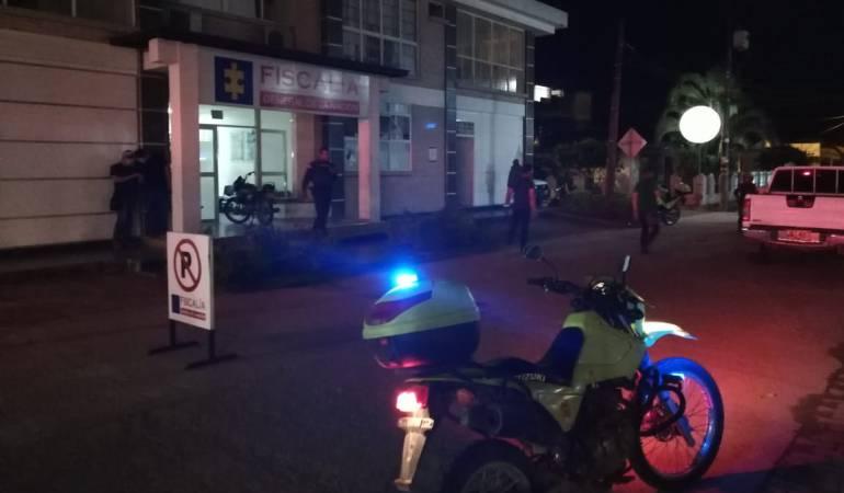 Atacan con explosivos la sede de la Fiscalía en Puerto Asís, Putumayo