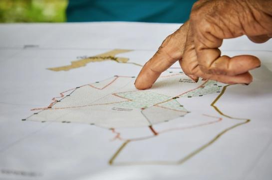 Mapeo de las regiones a visitar
