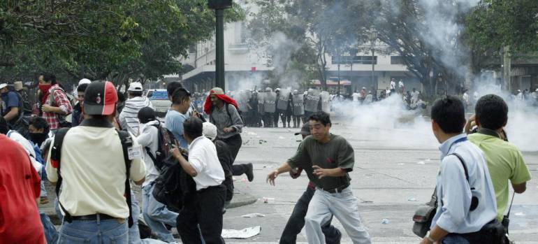 Crisis en Nicaragua.
