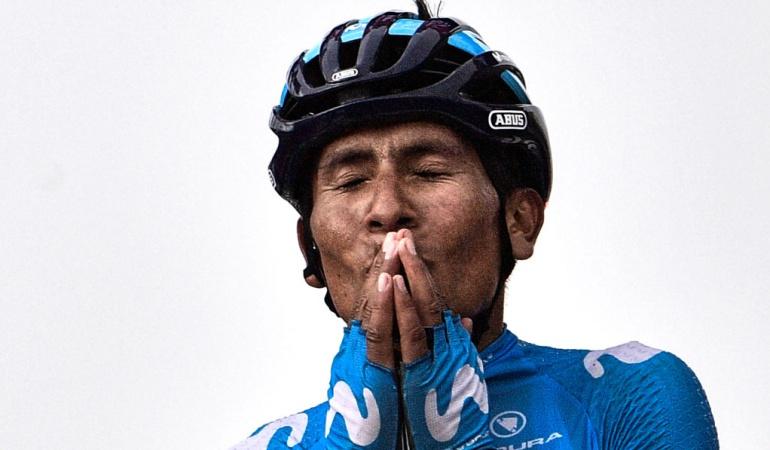 """Nairo Quintana Tour de Francia Vuelta a España: Nairo: """"No tuve el Tour esperado; ahora voy a preparar la Vuelta"""""""