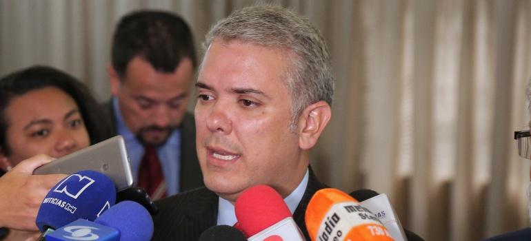 Iván Duque, presidente electo.