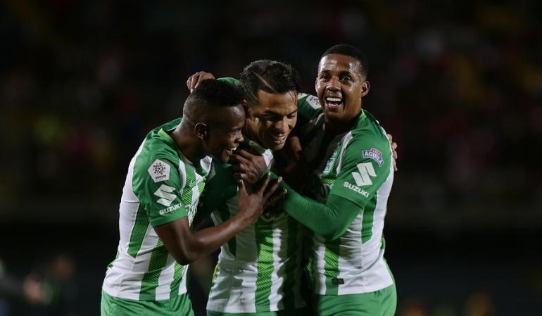 Santa Fe 0-2 Nacional Liga Águila: Nacional se sacudió y venció con autoridad a Santa Fe en Bogotá