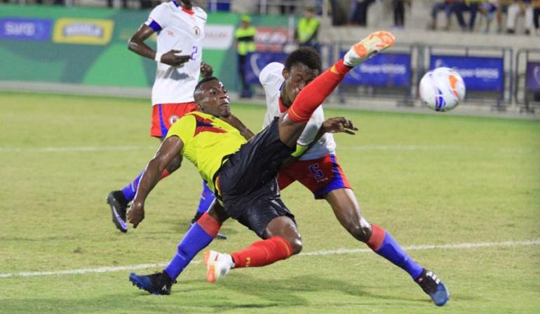 Colombia Haití Juegos Centroamericanos: Selección Colombia venció a Haití y jugará por el oro ante Venezuela