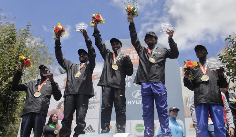 Media Maratón de Bogotá: Los etíopes Getahun y Gudeta triunfan en la Media Maratón de Bogotá
