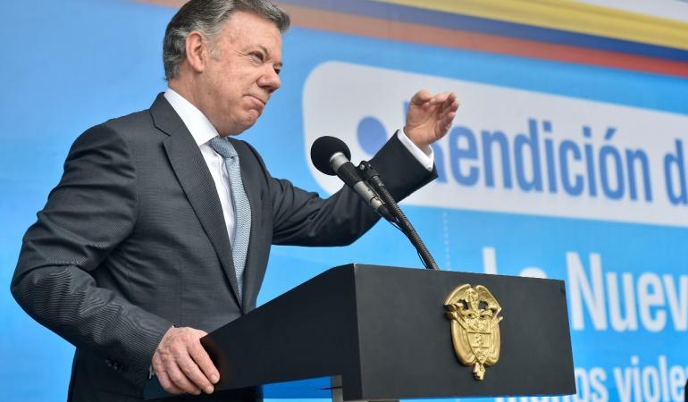 Fuertes declaraciones de Santos sobre Andrea Nieto: Andrea Nieto es una resentida a la que le quedó grande el Sena: Santos