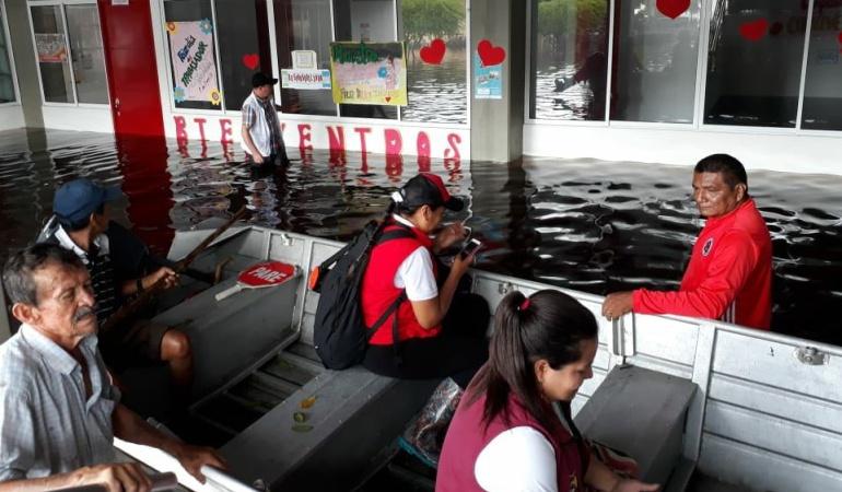 Afectados por lluvias en Colombia: Los niños son los más afectados por inundaciones en Guainía: Iglesia