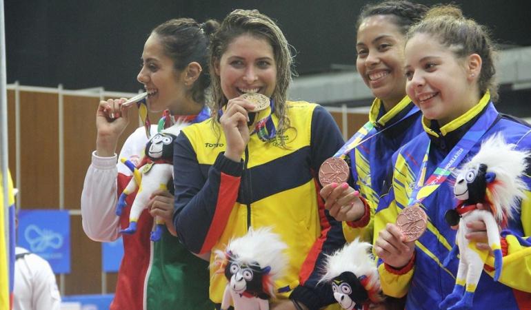 Saskia oro Colombia esgrima: Saskia Van Erven ganó Oro para Colombia en la esgrima