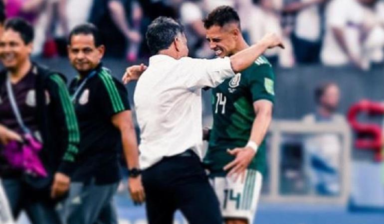 """Chicharito Osorio México: 'Chicharito': """"Osorio es el mejor entrenador que he tenido en la selección"""""""