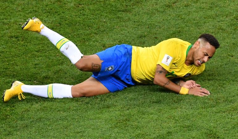 Neymar exageración: Neymar admitió en un anunció que exageró en el Mundial de Rusia
