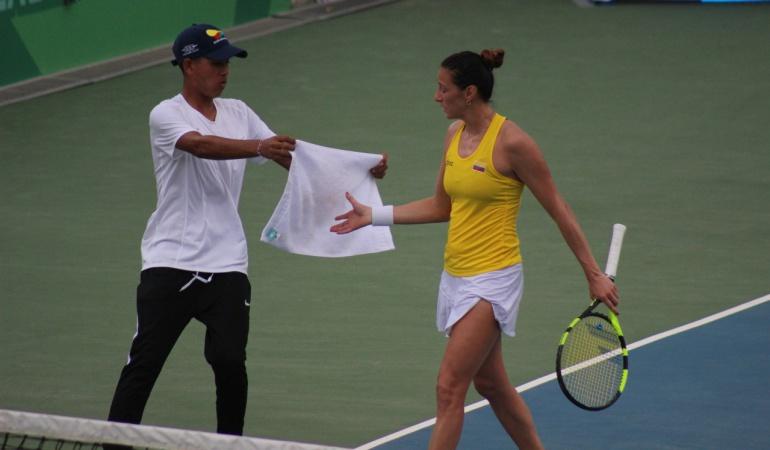 Mariana Duque Juegos Centroamericanos: Mariana Duque se quedó con la medalla de plata tras caer ante Mónica Puig