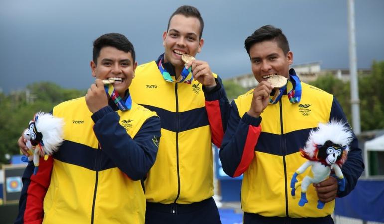 Colombia oro tiro con arco recurvo: Oro y Plata para Colombia en el tiro con arco recurvo