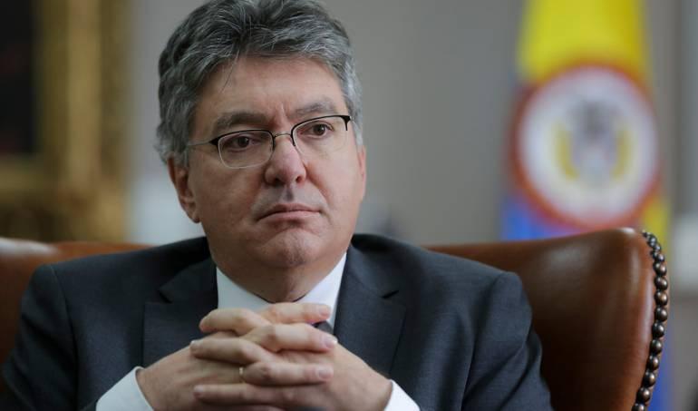 Mauricio Cárdenas, Ministro de Hacienda del Gobierno Santos.
