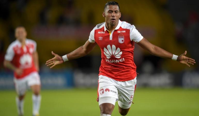 Santa Fe octavos Copa Sudamericana: Un doblete de Carlos Henao pone a Santa Fe en octavos de Sudamericana