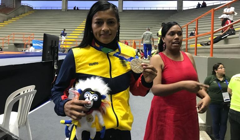 Carolina Castillo oro lucha: Carolina Castillo logró un Oro para Colombia en la lucha