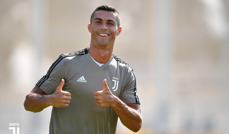 Cristiano Ronaldo Juventus: Cristiano Ronaldo ya tuvo su primer entrenamiento con la Juventus