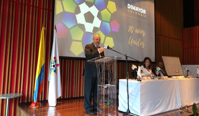 Jorge Enrique Vélez presidente de la Dimayor: Jorge Enrique Vélez fue escogido como nuevo presidente de la Dimayor